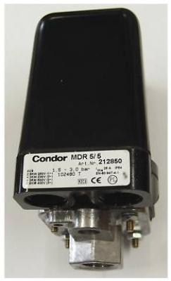 kompressoren gieb condor druckschalter mdr 5 5 f. Black Bedroom Furniture Sets. Home Design Ideas